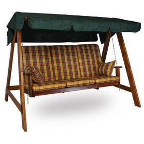 Holz Hollywoodschaukel Honig (3-Sitzer) Design London