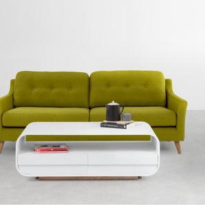 Rufus 3-Sitzer Sofa, Blattgruen