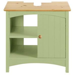 heine home Waschbeckenunterschrank mit Siphonausschnitt, grün