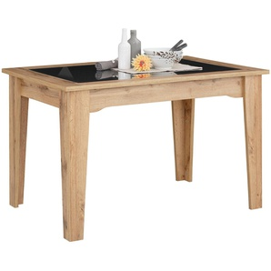 Home affaire Esstisch »Sonya« mit Tischplatten aus graphitfarbenen Sicherheitsglas