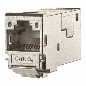 BTR Modular-Buchse, Cat6A (IEC), RJ45 8(8), 22-26AWG, geschirmt, geeignet für Litzenleiter, geeignet für Massivleiter, geeignet für Rundkabel