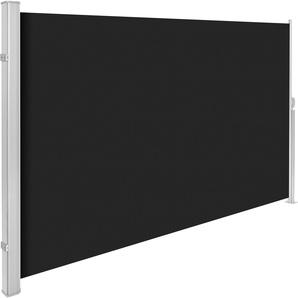 Aluminium Seitenmarkise 180 x 300 cm schwarz