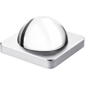 Effekt-Leuchte Adot AM5, Touchdimmer, 5,3 x 10 x 10 cm, 150 Lumen, USB-Anschluss, silber