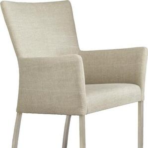 SIT Stuhl »Roma« mit Armlehne, beige