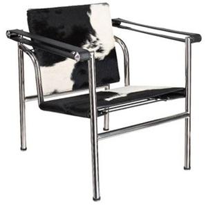 LC1 Stuhl Le Corbusier - Pony Schwarz