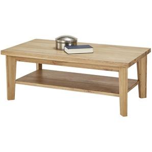 Woodford Couchtisch  Gonzo ¦ holzfarben ¦ Maße (cm): B: 115 H: 45 T: 65 Tische  Couchtische  Couchtisch Massivholz » Höffner