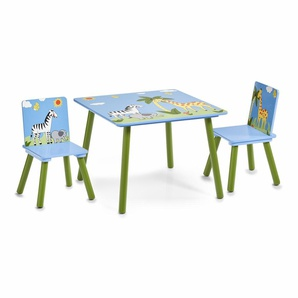 Home affaire Kindersitzgruppe »Safari«, blau