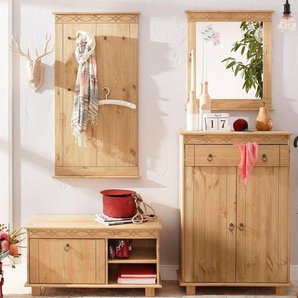 Home affaire Garderoben-Set »Indra« (4-tlg.), beige