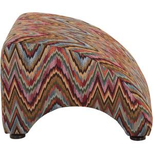 Max Winzer® Hocker »Borano«, mehrfarbig, B/H/T: 50x38x52cm, hoher Sitzkomfort