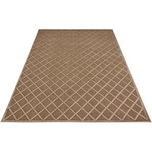 Mint Rugs Teppich »Danton«, 80x125 cm, 4 mm Gesamthöhe, braun