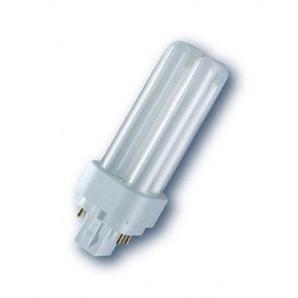 Osram 017594 Kompaktleuchtstofflampe Dulux D/E 13W/840 LUMILUX Cool White G24q-1 TC-DEL