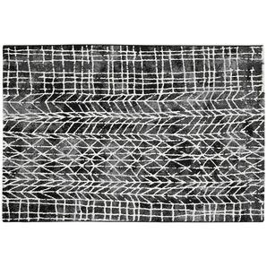 Webteppich  MoveOne ¦ schwarz ¦ 100% Polypropylen, Synthethische Fasern ¦ Maße (cm): B: 80 Teppiche  Wohnteppiche » Höffner