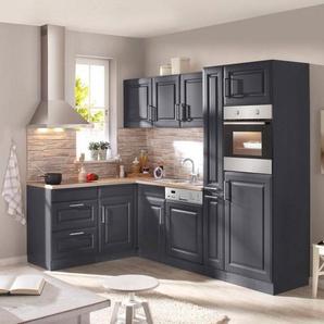 Held Möbel Küchenzeile mit E-Geräten »Stockholm, Breite 260 x 170 cm«