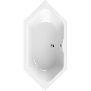 AquaSu Acryl-6-Eckwanne Scalma 190 cm x 90 cm Weiß