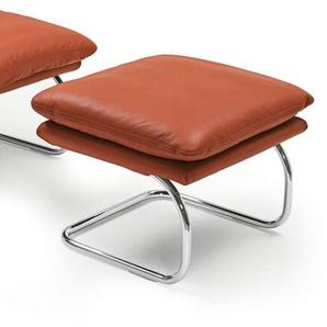 die sofa manufaktur Hocker Lederbezug Copper