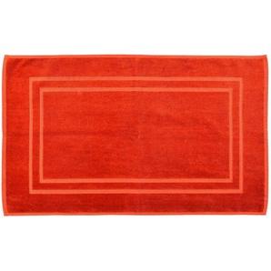 Badematte Velvet, L:50cm x B:80cm, rost