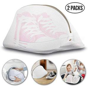 Cozypony® Wäschesack aus Netzstoff, wiederverwendbar, langlebig, für Schuhe, BH, Dessous, Unterwäsche, 24 x 42 cm, 2 Stück