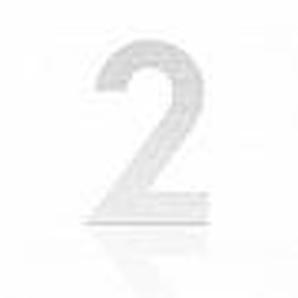 Heibi Hausnummer Midi Edelstahl zum Kleben Ausführung: Nummer 0