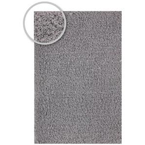 Hochflorteppich LIVORNO Silber 170 x 240