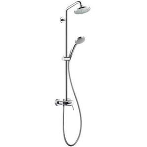 hansgrohe CROMA 100 Showerpipe Einhebelmischer DN 15 chrom
