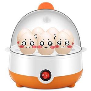 Eierkocher Egg Cooker Einzelne Schicht Mini Edelstahl Schnell Eierkocher Automatik Ausschalten 7 Eier Gedämpftes Ei