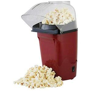 Popcorn-Maschine für heiße Luft – gesunde Popcorn-Maker – macht leckere Snacks mit geringer Fettdichte, 1200 W, Rot