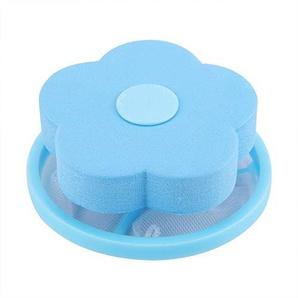 Waschmaschinenhaarentferner Entfernungsgerät Floating Filter Netzbeutel Blumenform Ball 02