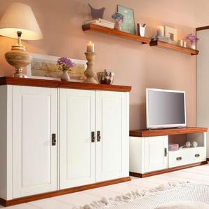 Home Affaire Wohnwand, weiß, FSC®-zertifiziert