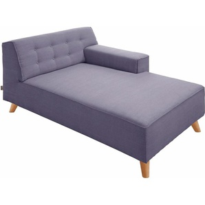 Tom Tailor Chaiselongue »NORDIC CHIC«, lila