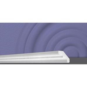 Decosa Zierprofil D50 (Silvana), weiss, 40 x 50 mm Laenge 2 m - 30 Stueck - DECOSA®