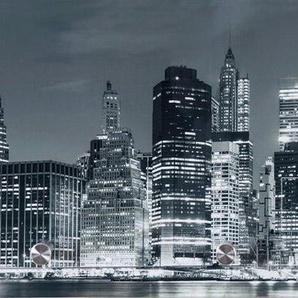 Garderobe »Skyline« 80/30 cm, schwarz