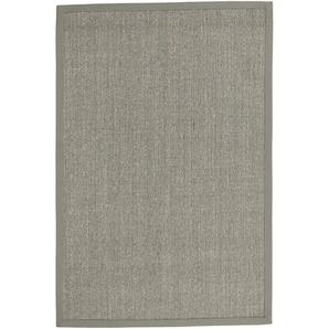 Sisalteppich uni Farben, grau, Gr. 200/300 cm,  home, Material: Sisal