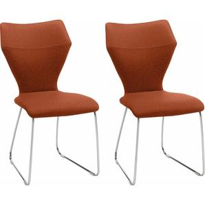 Stühle »Tempra« Orange, Gallery M