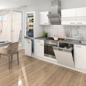 Respekta Küchenzeile mit E-Geräten »Ibiza«, 280 cm