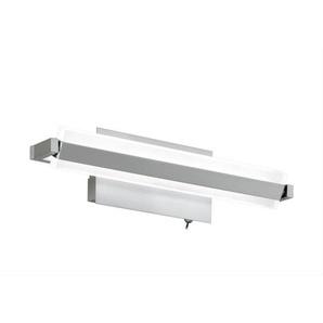 FISCHER & HONSEL verstellbare LED Wandlampe 1 flg. TURN ROUND 35 Nickelfarbig