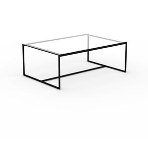 Beistelltisch Kristallglas klar - Eleganter Nachttisch: Hochwertige Materialien, einzigartiges Design - 121 x 45 x 81 cm, Komplett anpassbar
