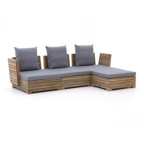 ROUGH-B Chaiselongue Lounge-Set 4-teilig