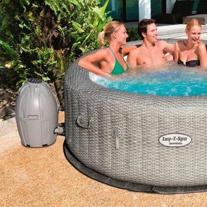 BESTWAY Set: Whirlpool »Lay-Z-Spa™ Honolulu AirJet™«, 6-tlg., ØxH: 196x71 cm