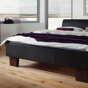 Lederbett Hasena Dream-Line Bett Curvino