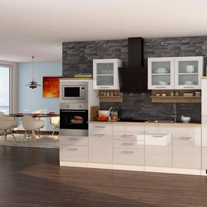 HELD MÖBEL Küchenzeile »Mailand«, mit Elektrogeräten, Breite 330 cm