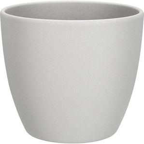 Übertopf Madrid Keramik grau Ø 19 cm
