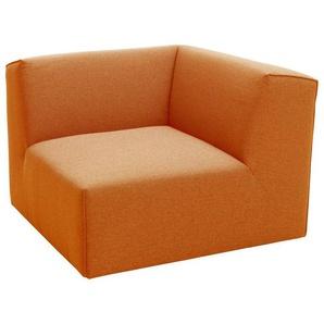 TOM TAILOR Eckelement »ELEMENTS«, orange, Struktur fein TBO