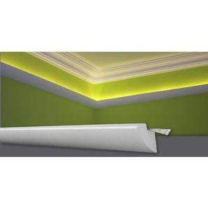 Decosa Lichtleiste G35 (Karoline), weiss, 45 x 42 mm Laenge 2 m - 10 Stueck - DECOSA®
