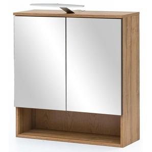 Spiegelschrank mit LED Beleuchtung »Zingst«, Energieeffizienzklasse: A++(Skala A++ bis E),