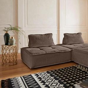 Guido Maria Kretschmer Home&living Eck-Sofa »Montpellier«, braun