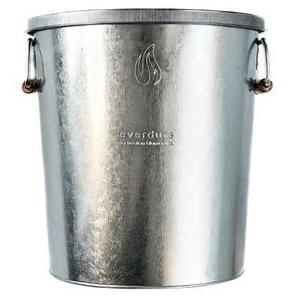everdure Kohlebehälter, Silber, Metall