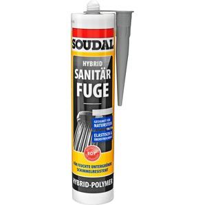 Soudal Hybrid-Sanitärfuge grau 290 ml