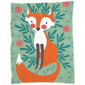 Fox In The Woods - Fleecedecke