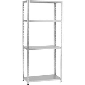 Metall-Steckregal Verzinkt 180 cm x 80 cm x 40 cm