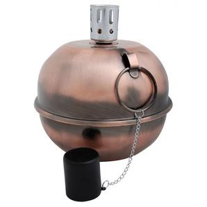 Esschert Design Öllampe Gartenlampe Kupfer, 20 x Ø 20,7 cm